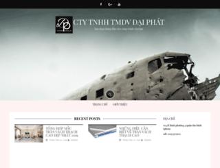 xaydungdaiphat.com screenshot