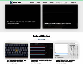 xbitlabs.com screenshot