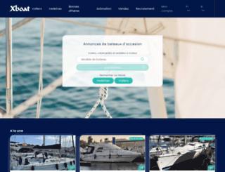xboat.fr screenshot