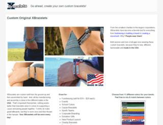 xbracelets.com screenshot