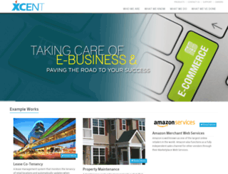 xcent.com screenshot