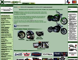 xchoppers.com screenshot