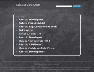 xdaguides.com screenshot