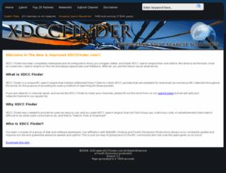 xdccfinder.com screenshot