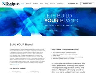 xdesigns.com.au screenshot