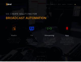 xdevel.com screenshot