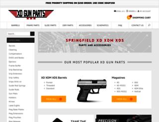 xdgunparts.com screenshot