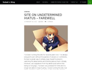 xebek.animeblogger.net screenshot