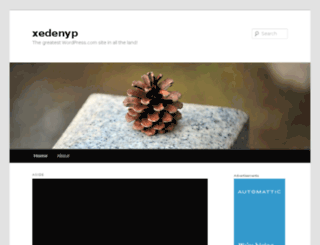 xedenyp.wordpress.com screenshot
