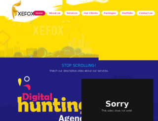 xefox.org screenshot