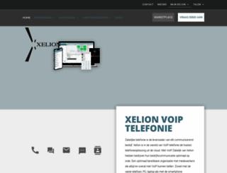xelion.nl screenshot