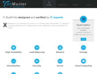 xenmaster.com screenshot