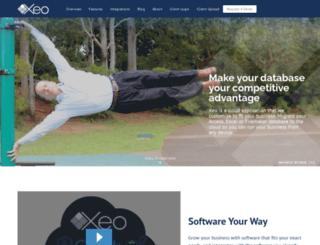 xeosoftware.com screenshot