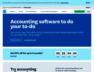 xero.com screenshot