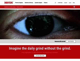 xerox.com screenshot