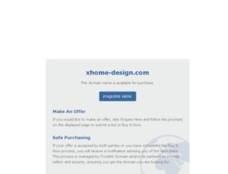 xhome-design.com screenshot