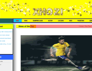 xhozi.com screenshot
