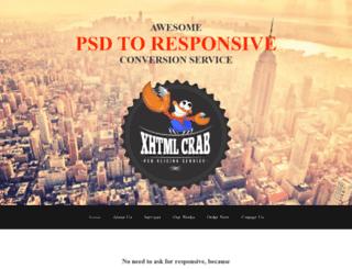 xhtmlcrab.com screenshot