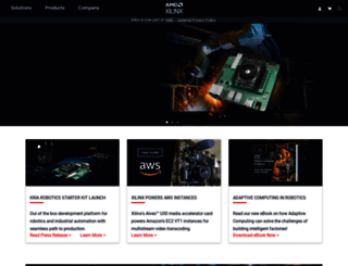 xilinx.com screenshot
