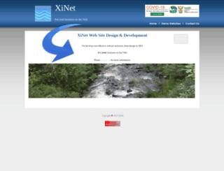xinet.co.za screenshot