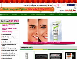 xinhvadep.net screenshot