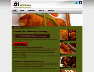 xiong-mao.co.uk screenshot