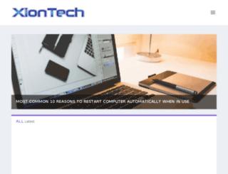 xiontech.net screenshot