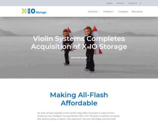 xiostorage.com screenshot