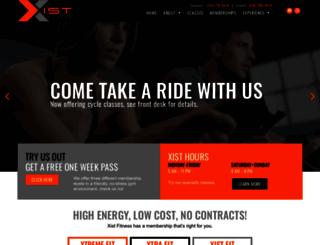 xistfitness.com screenshot