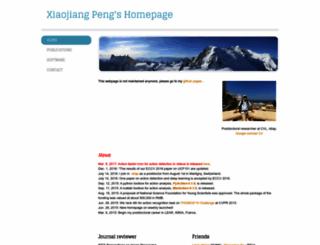 xjpeng.weebly.com screenshot