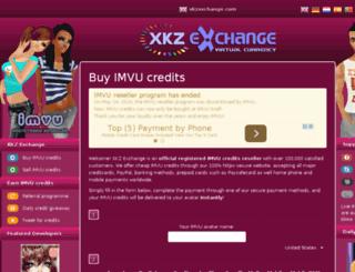 xkzcredits.com screenshot
