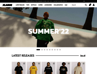 xlarge.com screenshot