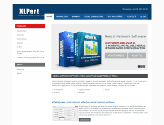 xlpert.com screenshot