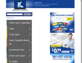 xlvapor.net screenshot