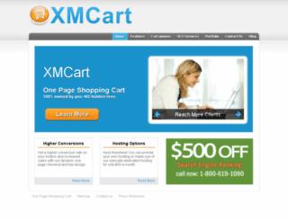 xmcart.com screenshot