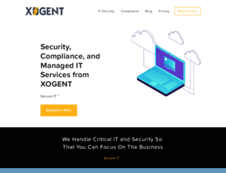 xogent.com screenshot