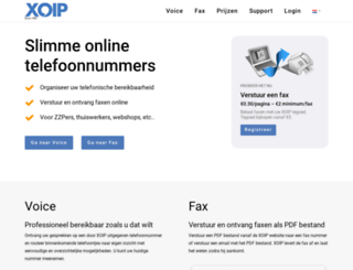 xoip.nl screenshot