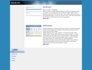 xoslab.com screenshot