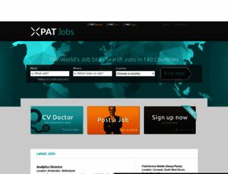 xpatjobs.com screenshot
