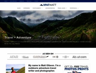 xpatmatt.com screenshot