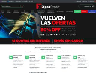 xprostore.cl screenshot