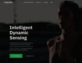 xsensor.com screenshot