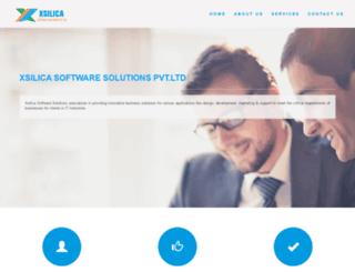 xsilica.com screenshot