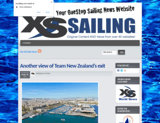 xssailing.com screenshot