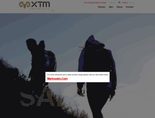 xtm-shop.com screenshot