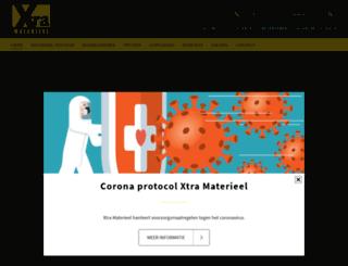 xtra-materieel.nl screenshot