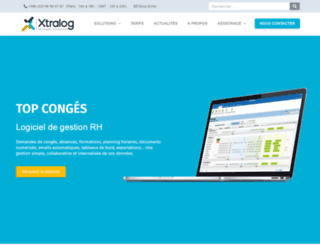 xtralog.com screenshot