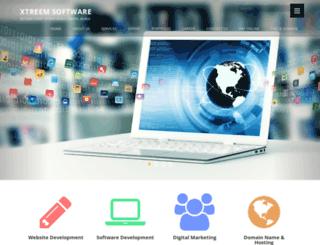 xtreemsoftware.com screenshot