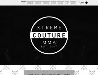 xtremecouturemma.com screenshot