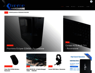 xtremehardware.com screenshot